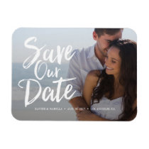 Save Our Date Announcement Magnet