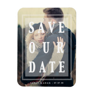 Save Our Date Overlay   Save the Date Magnet