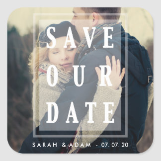 Save Our Date Overlay | Save the Date Stickers
