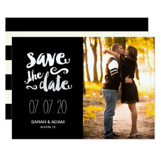 Save Our Date | Photo Save the Date Card