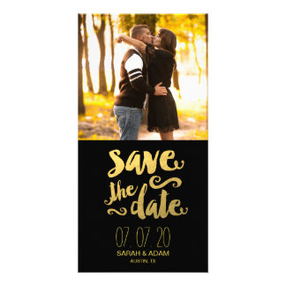 Save Our Date | Photo Save the Date Photo Card