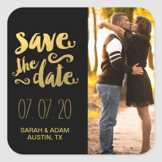 Save Our Date | Photo Save the Date Sticker