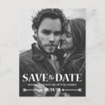 """Save our Date Photo Wedding Announcement Postcard<br><div class=""""desc"""">Personalized Save the Date Photo Announcement Card 