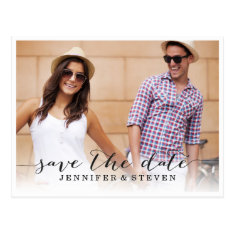 Save Our Date | Save The Date Announcement Postcard at Zazzle