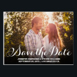 "SAVE OUR DATE | SAVE THE DATE ANNOUNCEMENT POSTCARD<br><div class=""desc"">SAVE OUR DATE 