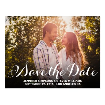 antiquechandelier SAVE OUR DATE | SAVE THE DATE ANNOUNCEMENT POSTCARD