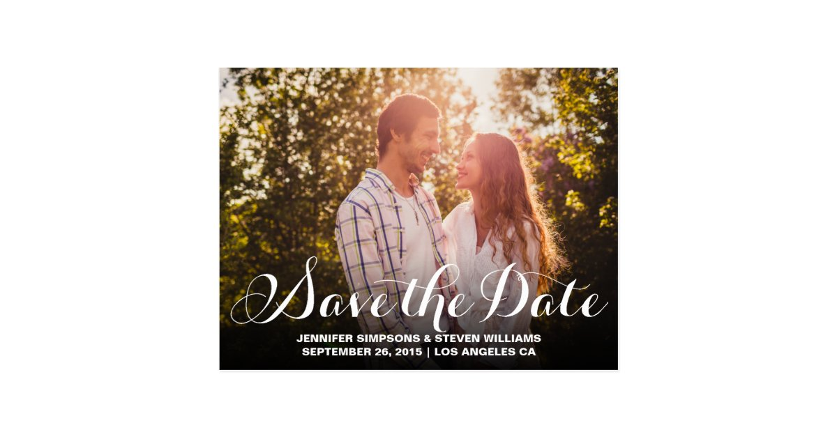SAVE OUR DATE | SAVE THE DATE ANNOUNCEMENT POSTCARD ...