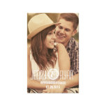 SAVE OUR DATE | SAVE THE DATE CANVAS PICTURE CANVAS PRINT