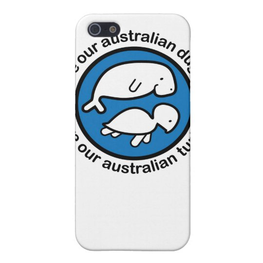 Save our dugong & turtle case for iPhone SE/5/5s