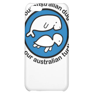Save our dugong & turtle iPhone 5C case