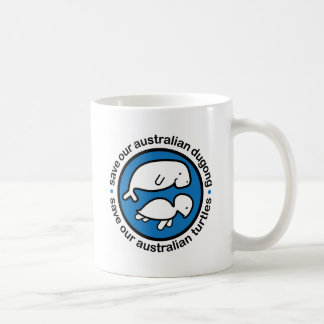 Save our dugong & turtles mugs