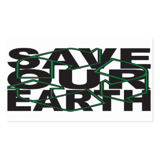 Save Our Earth Business Card
