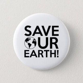 Save Our Earth Button