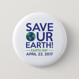 Save Our Earth Pinback Button