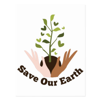Save Our Earth Postcard