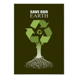 SAVE OUR EARTH POSTER