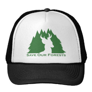 Save Our Forests Hats