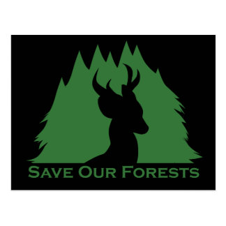 Save Our Forests Postcard
