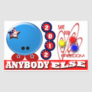 Save Our Freedom Rectangular Sticker