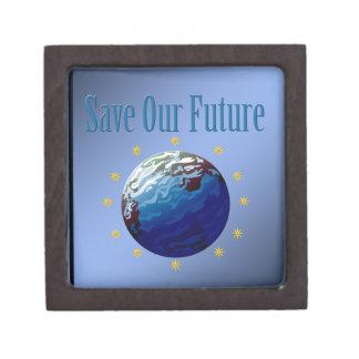 Save our future #2 premium trinket box