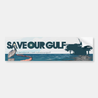Save Our Gulf Bumper Sticker