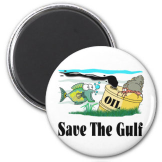 save our gulf fridge magnets