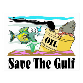 save our gulf postcard