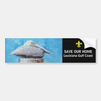 SAVE OUR HOME CAR BUMPER STICKER
