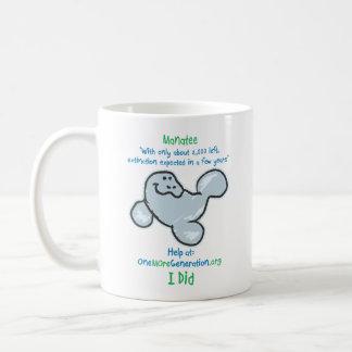 Save our Manatees Coffee Mug