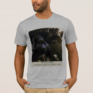 """SAVE OUR MTN GORILLAS"" T-Shirt"