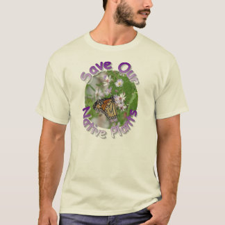 Save Our Native Plants Wildflower T-Shirt