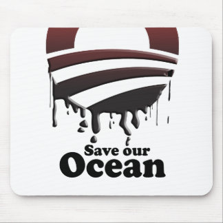 SAVE OUR OCEAN MOUSEPAD