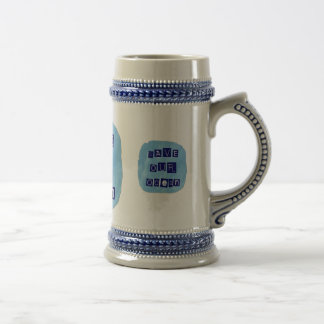 Save Our Ocean Watery Blue Background Mugs