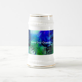 Save Our Oceans! Beer Stein