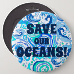 Save Our Oceans! Button