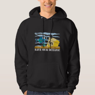 Save Our Oceans Earth Day Hoodie