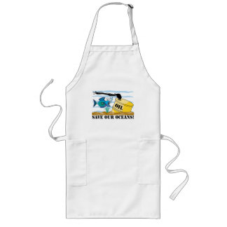 Save Our Oceans Earth Day Long Apron