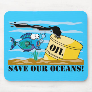 Save Our Oceans Earth Day Mouse Pad