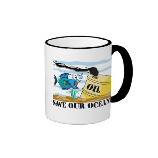 Save Our Oceans Earth Day Mug