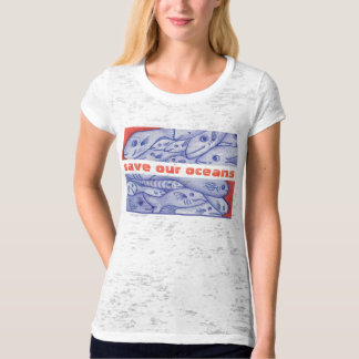Save Our Oceans Happy Fish and Coral T-shirt