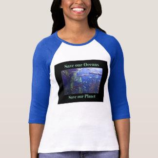 Save our Oceans Ladies Tshirt