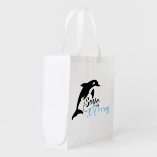 Save our Oceans Market Tote