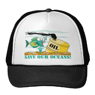 Save Our Oceans! Mesh Hats