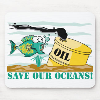 Save Our Oceans! Mouse Pad