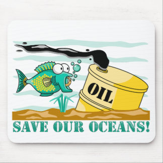 """""""Save Our Oceans""""  Mousepad"""