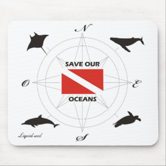 Save Our Oceans - Mousepad