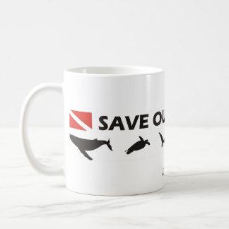 Save Our Oceans - Mug