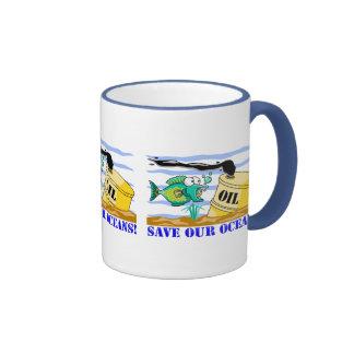"""Save Our Oceans"" Coffee Mug"