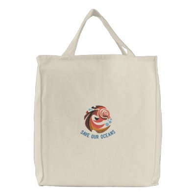 Save Our Oceans Organic Cotton Tote Bag