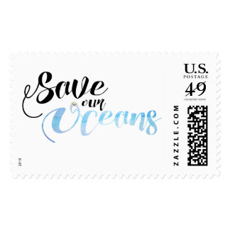 Save our Oceans Postage